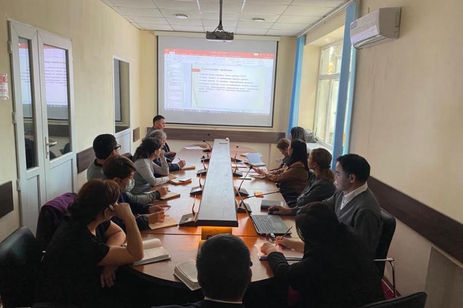 Пробация в Кыргызстане - Встреча Департамента пробации с представителями МСУ по вопросам разработки методического пособия по