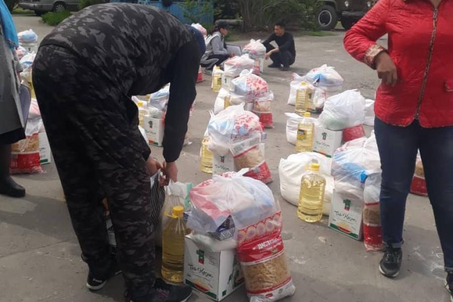 Пробация в Кыргызстане - Продуктовая поддержка клиентам пробации Первомайского района города Бишкек