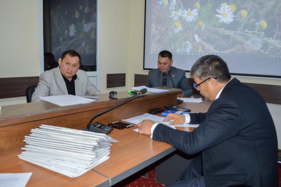 Пробация в Кыргызстане - Состоялось собеседование по вакансиям объявленными Департаментом пробации при Министерстве юстиции Кыргызской Республики 14 июля 2020 года