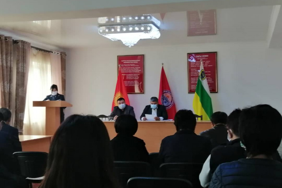 Пробация в Кыргызстане - В Чуйском районе прошел совет по пробации