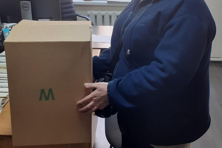 Пробация в Кыргызстане - Клиенты пробации Аламудунского района получили гуманитарную помощь