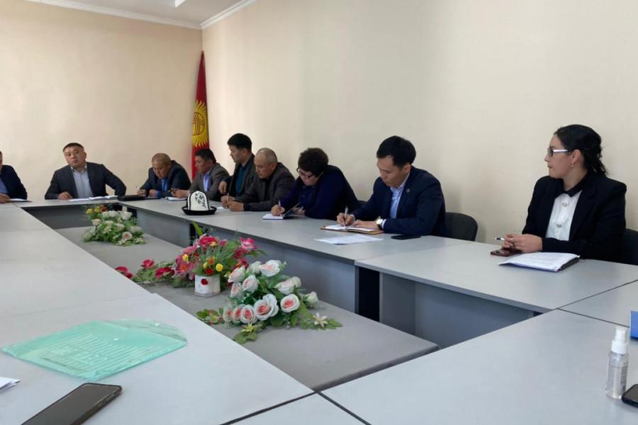 Пробация в Кыргызстане - В Ошской и Баткенской областях сотрудники органов пробации провели лекцию по предупреждению коррупции