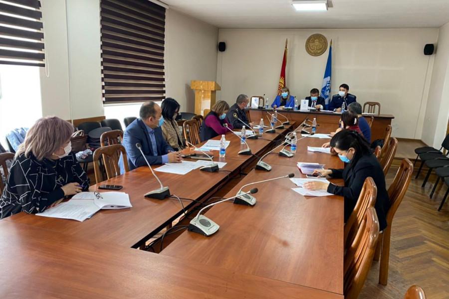 Пробация в Кыргызстане - В Октябрьском районе города Бишкек провели очередное заседание Совета по пробации