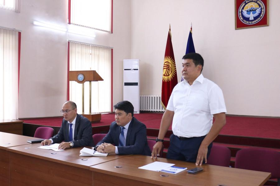 Пробация в Кыргызстане - Зарылбек уулу Алмазбек назначен директором Департамента пробации при Министерстве юстиции КР