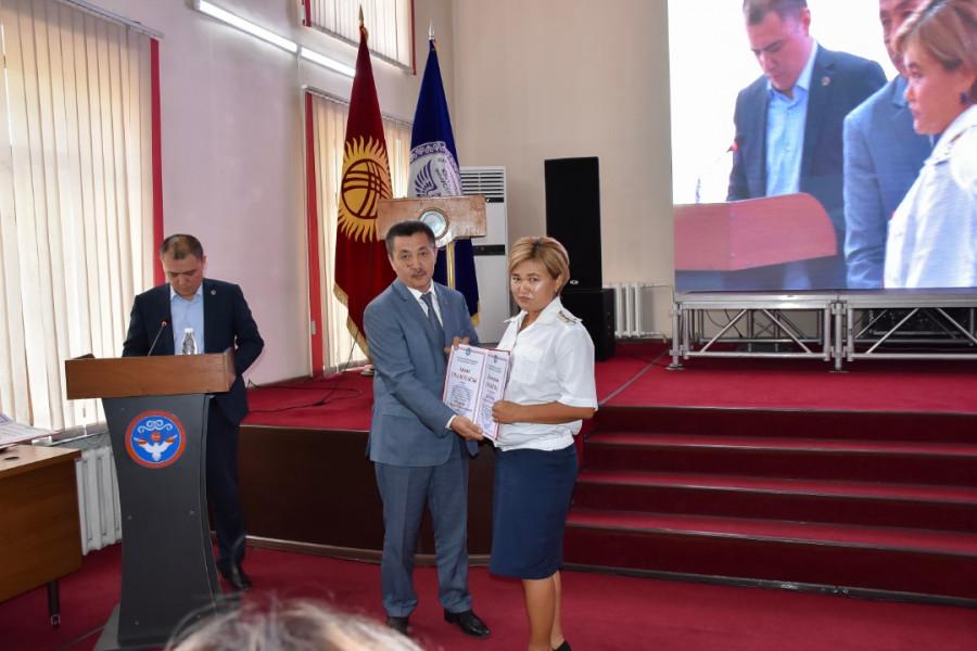Пробация в Кыргызстане - Состоялась вторая годовщина празднования Дня работника органа пробации Кыргызской Республики