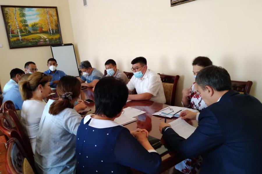 Пробация в Кыргызстане - В Оше прошло заседание Совета по пробации